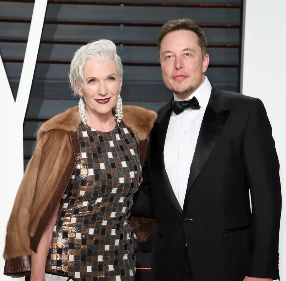 Elon Musk's mother Maye Musk