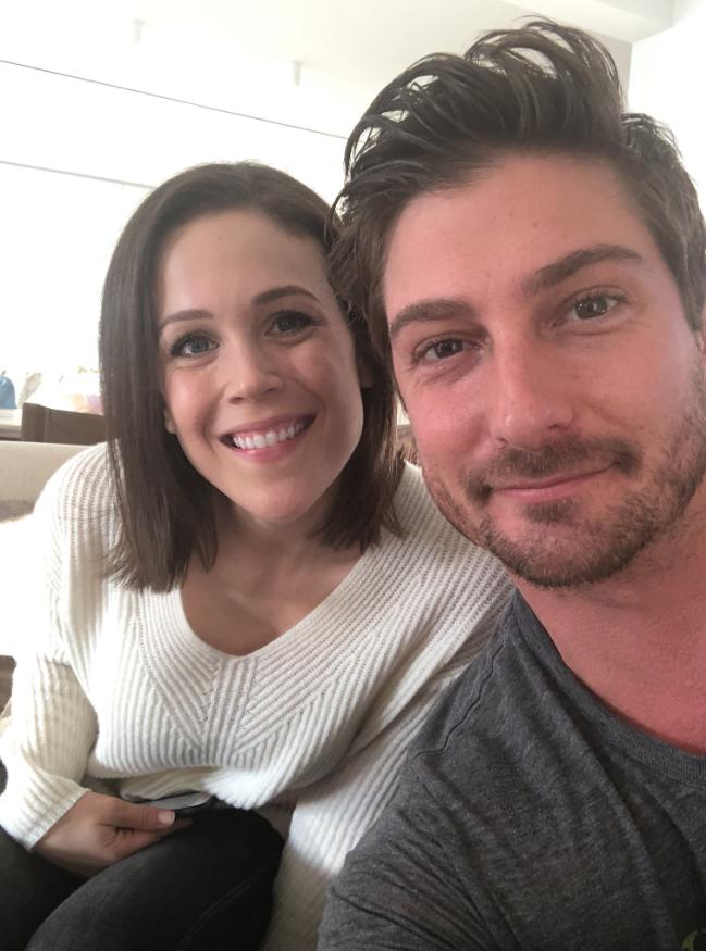 Erin Krakow and Daniel Lissing