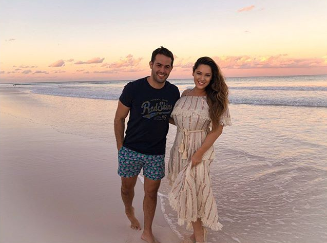 Jeremy Parisi and Kelly Brook Love Story