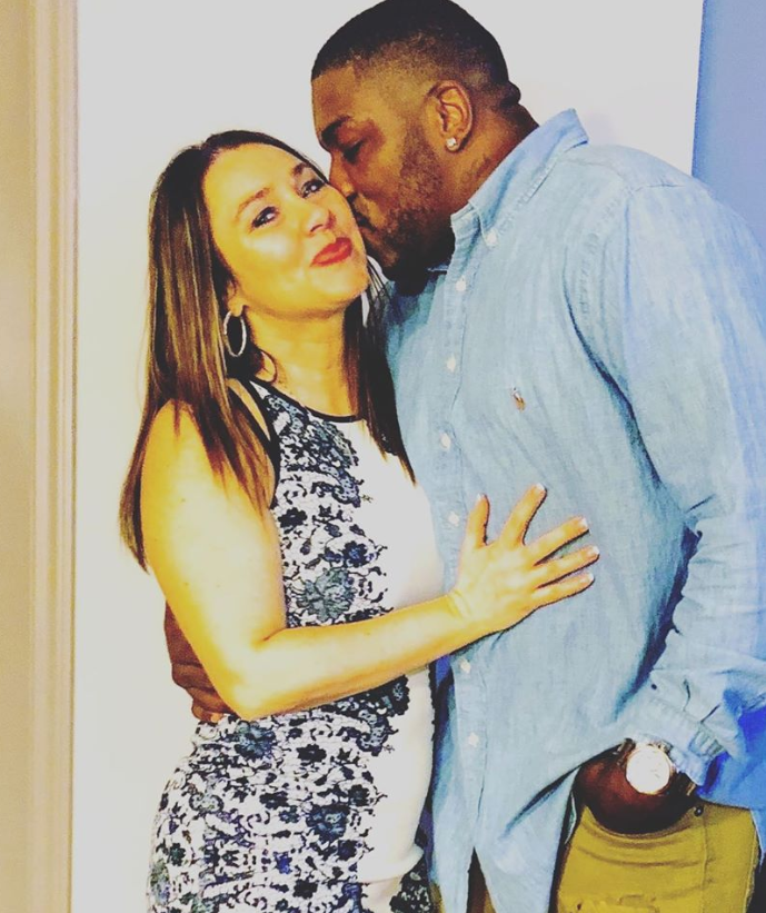 Walt Harris with his Wife Angela Haley-Harris