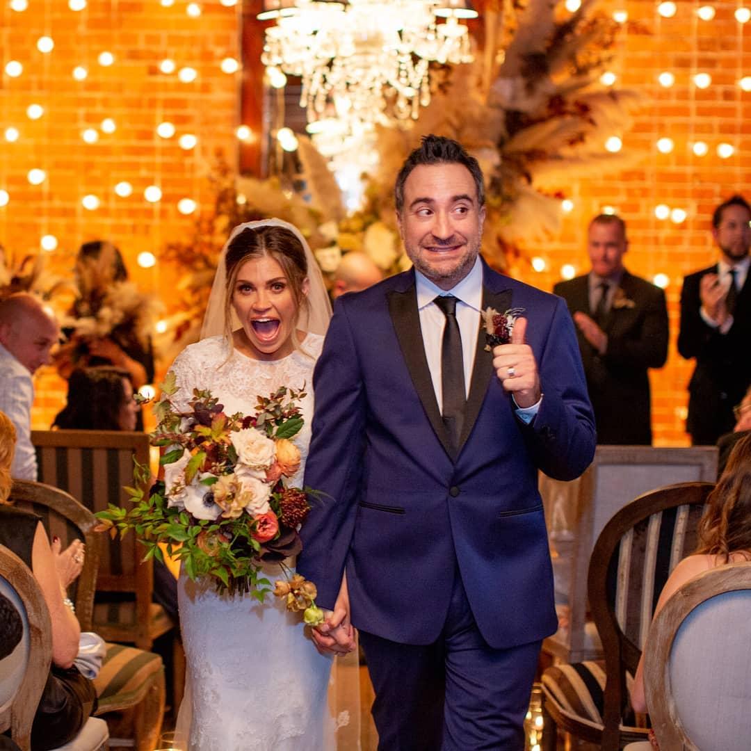 Danielle Fishel and Jensen Karp Wedding