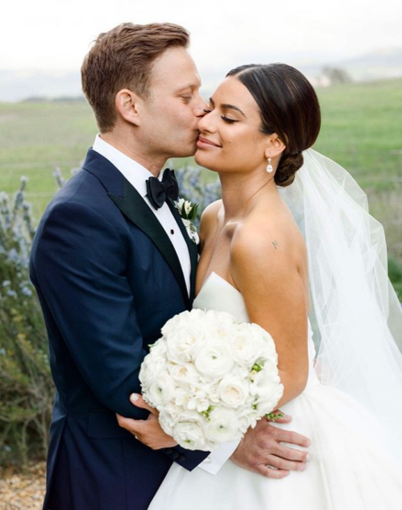Zandy Reich and Lea Michele Wedding
