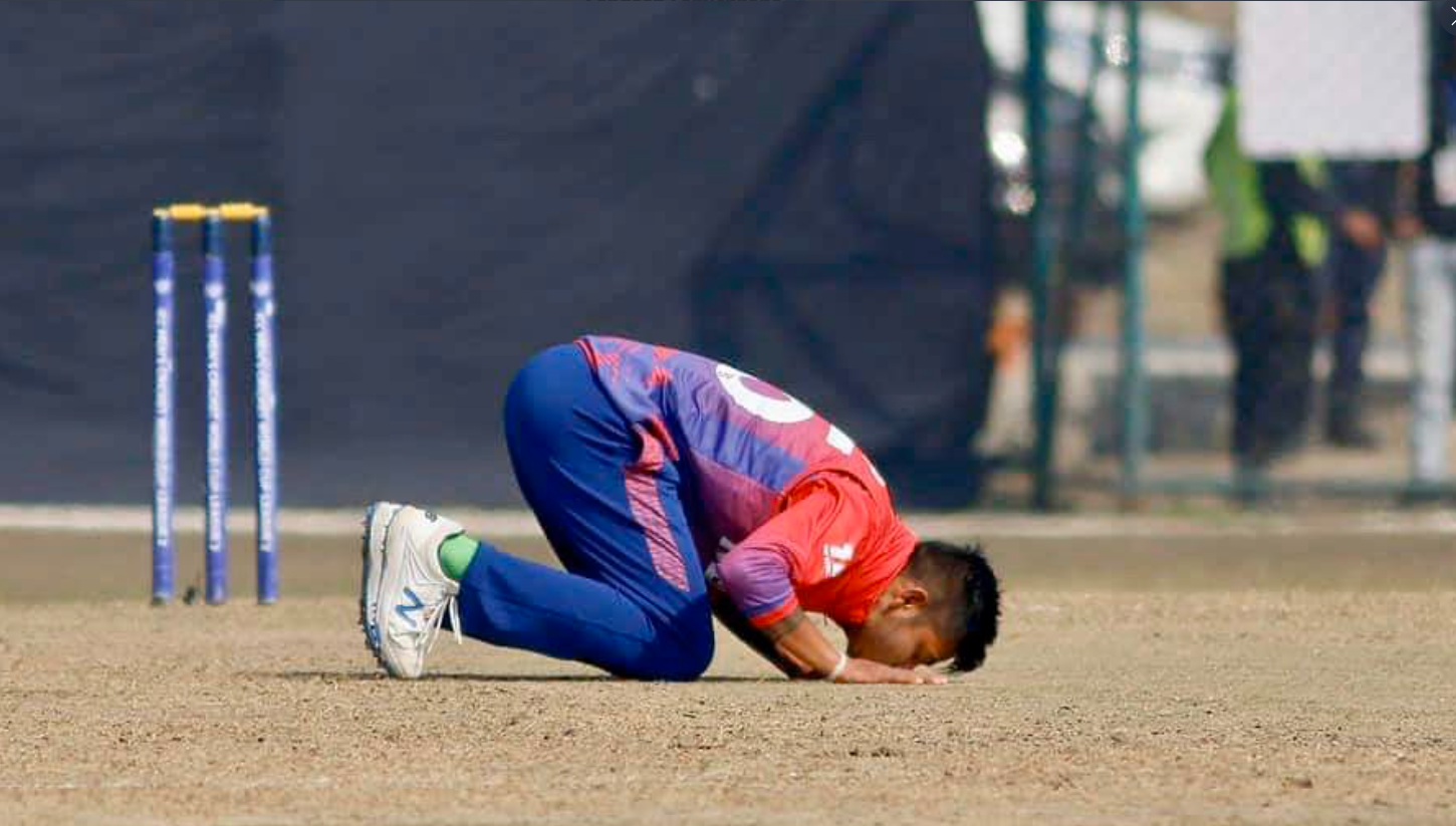 Sandeep Lamichhane - My identify Love, Pride and Life is this Beautiful Land
