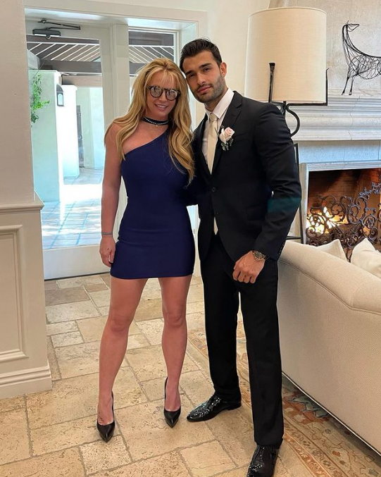 Britney Spears and Sam Asghari Relationship
