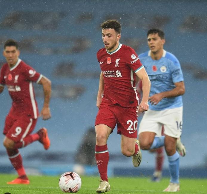 Diogo Jota Liverpool F.C.