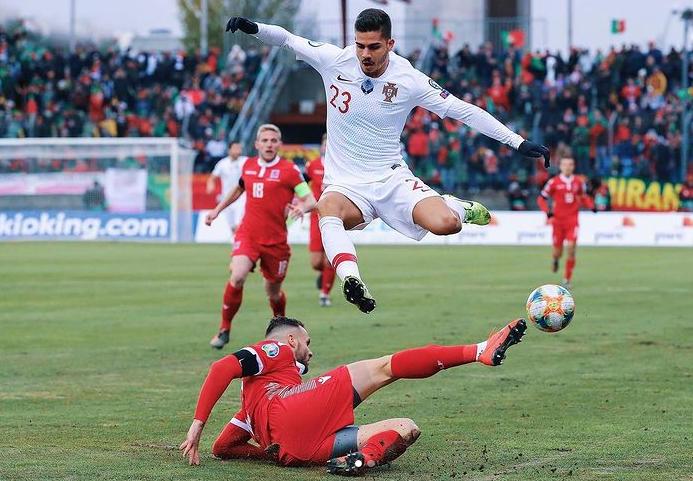Portuguese footballer Andre Silva