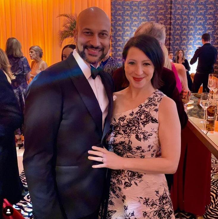 Keegan-Michael Key and Elle Key Oscars 2020