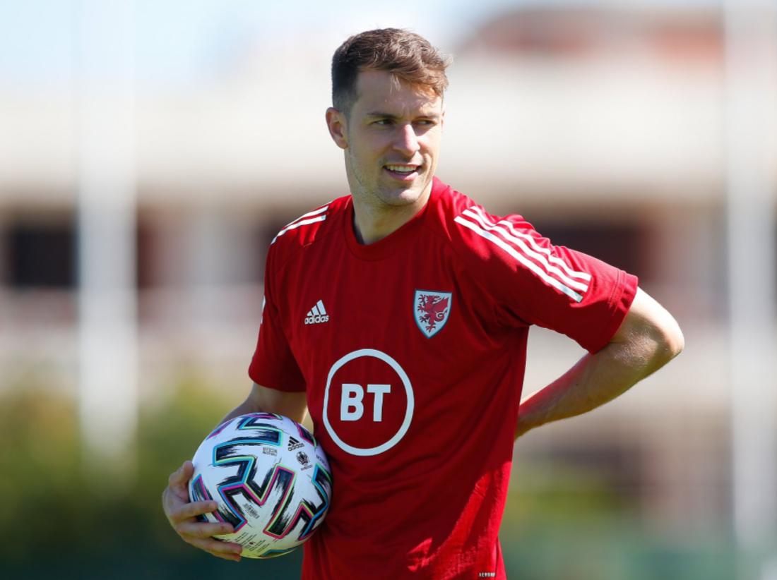 Welsh Footballer Aaron Ramsey