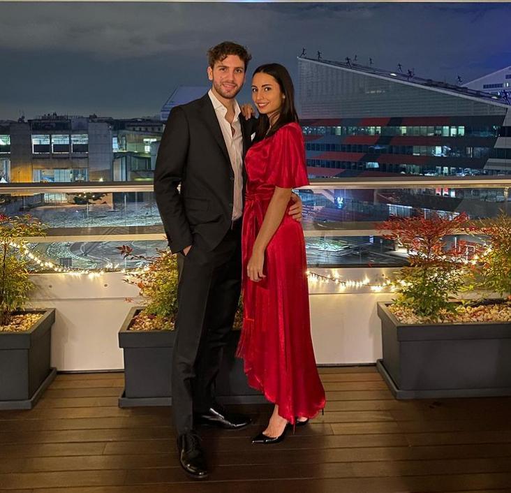 Manuel Locatelli and Thessa Lacovich