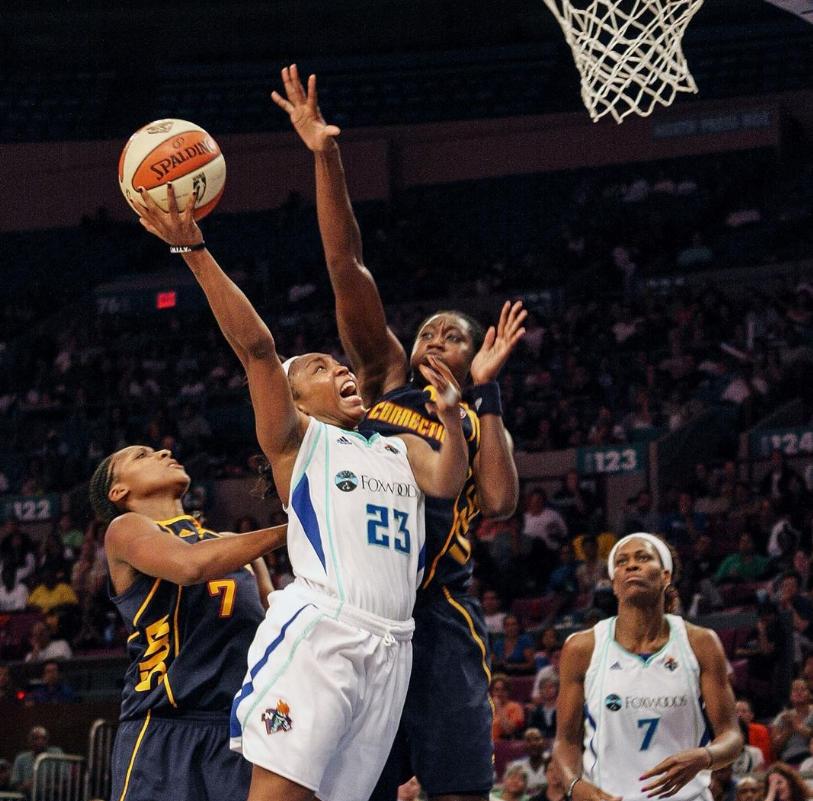 Cappie Pondexter WNBA Star